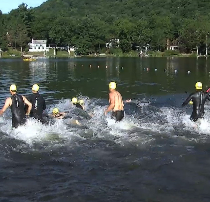 Stissing Sprint Triathalon Swim, cycle, and run through Pine Plains and its surrounding countryside! Stissing Sprint Triathlon: a USAT sanctioned triathalon is becoming an annual event put on by the community.