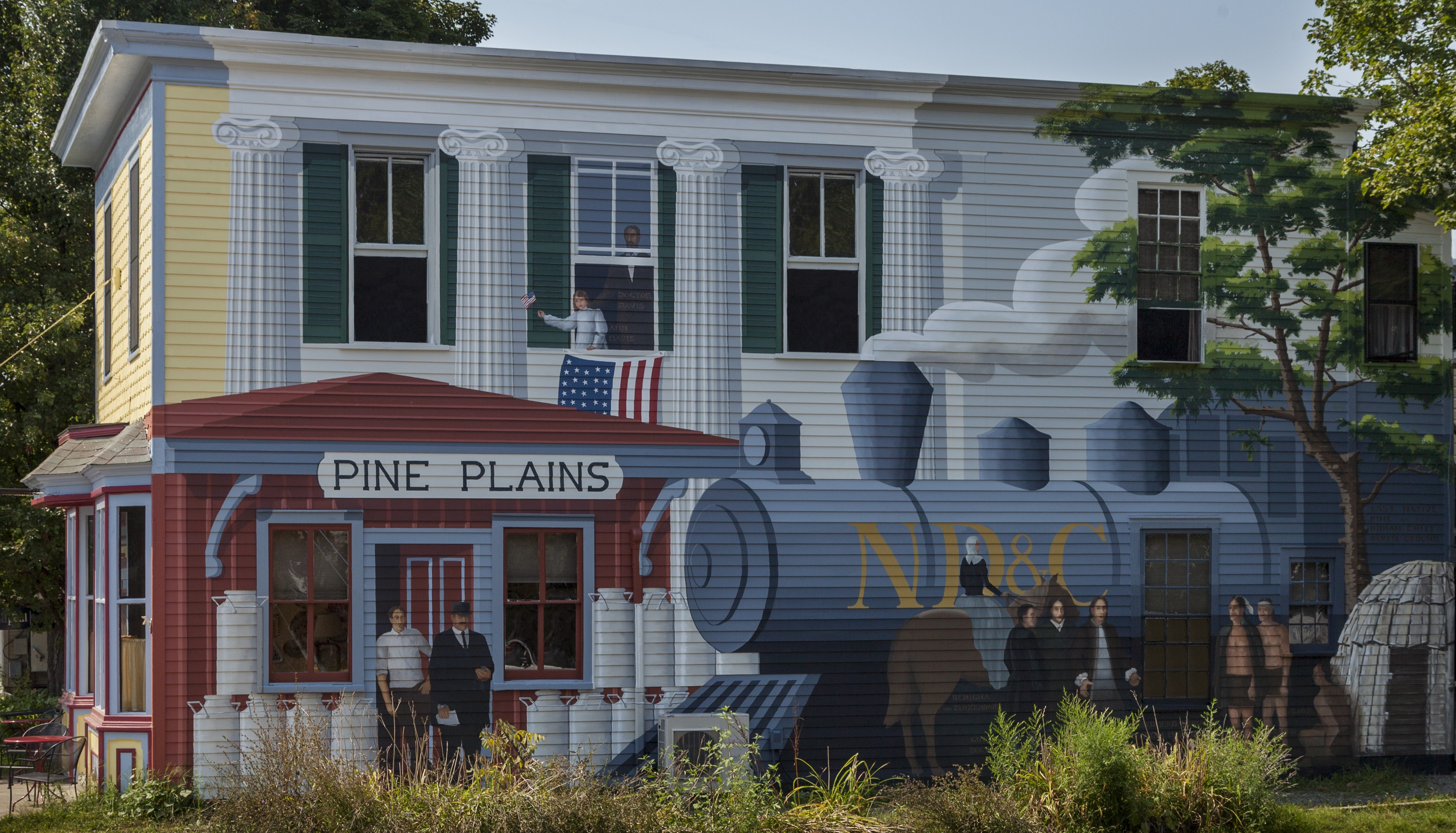 Pine Plains Business Association Pine Plains Business Association: To encourage, promote, support and advocate for local businesses in Pine Plains while maintaining the small historic community atmosphere.