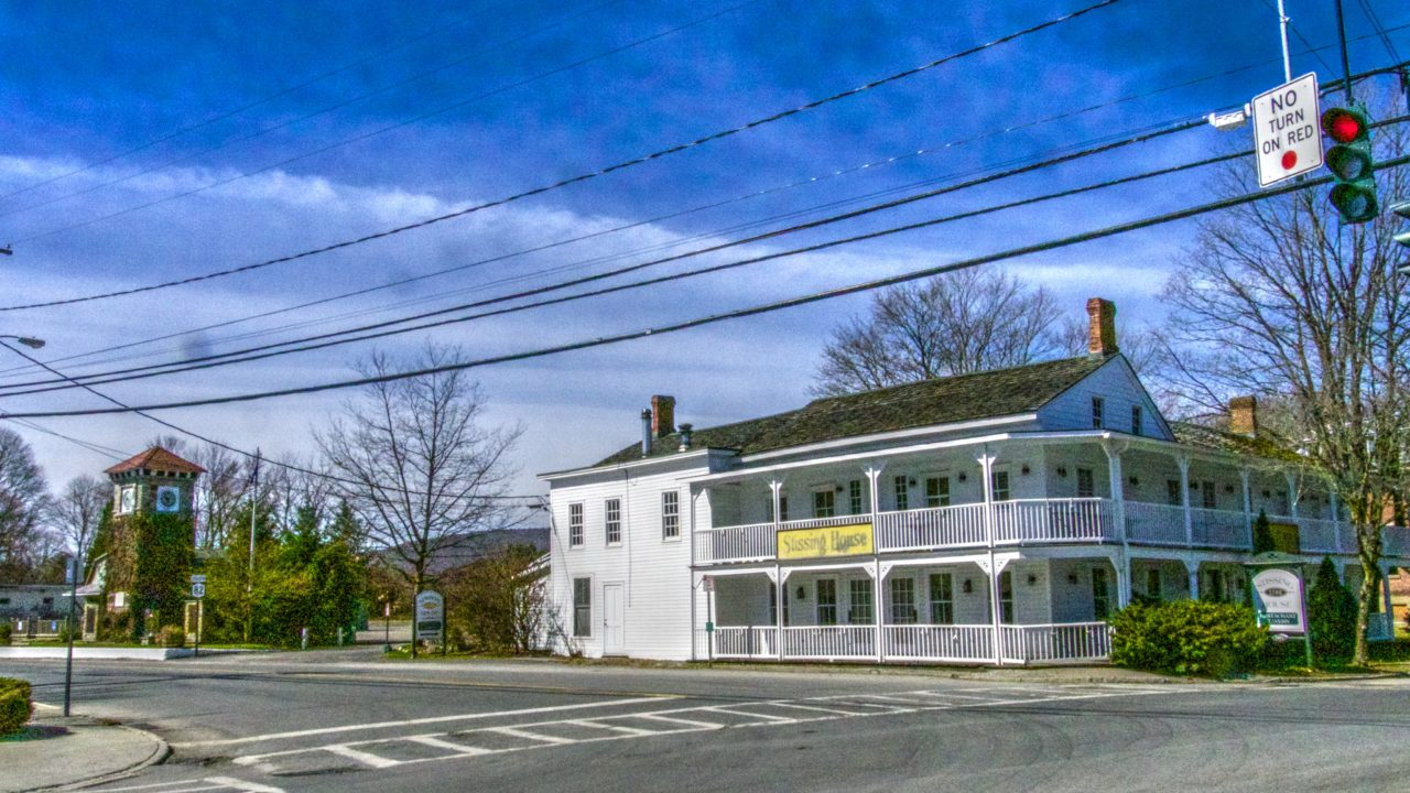 Pine Plains Main Street and Stissing House