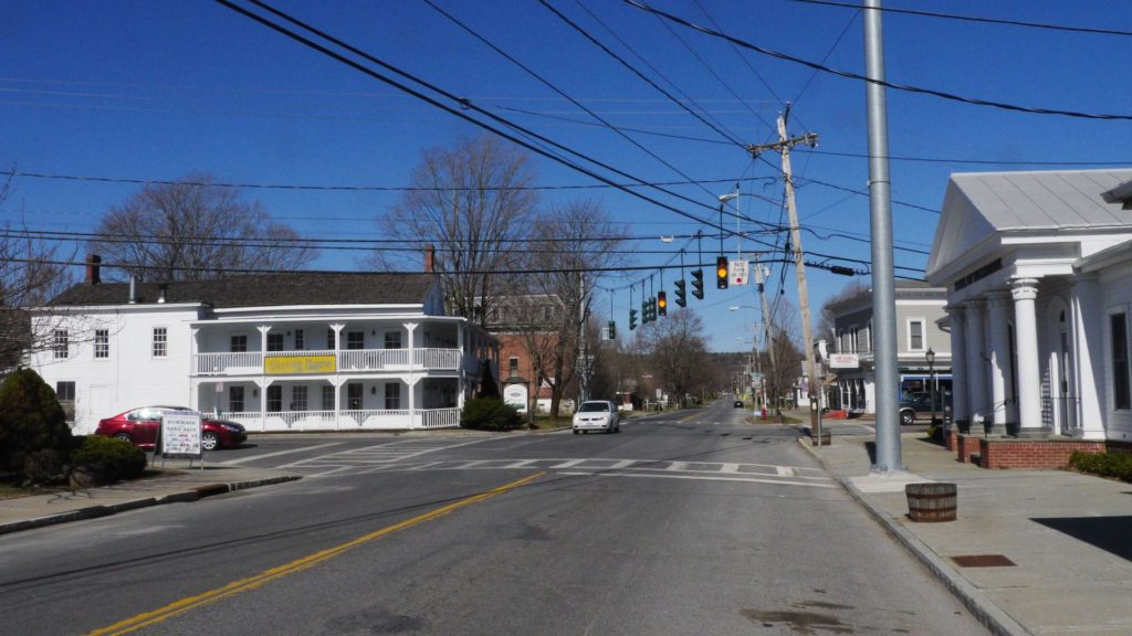 Main Street Intersection, Pine Plains, NY